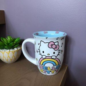🆕 Hello Kitty 🌈 Rainbow Mug Cup